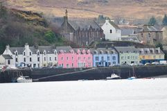 Harbour Front,Isle of Skye. Stock Image