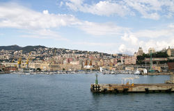 Harbour of genova Royalty Free Stock Photos