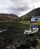 The harbour of Glencoe Royalty Free Stock Photography