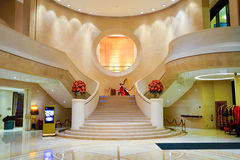 Harbour Grand Hong Kong Hotel interior Royalty Free Stock Photography