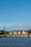Harbour of Greetsiel, Germany Stock Photos