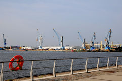 Harbour Hamburg Royalty Free Stock Photos