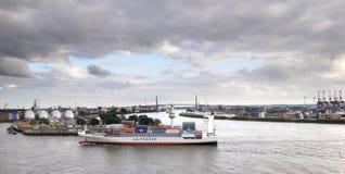 Harbour Hamburg Royalty Free Stock Photo