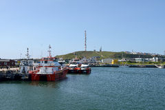 Harbour of Helgoland Royalty Free Stock Photo