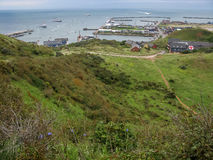 Harbour of Helgoland, Germany Stock Images
