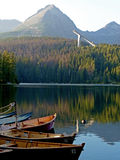 Harbour in The High Tatras Royalty Free Stock Image