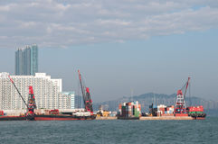 Harbour hong kong Royalty Free Stock Photography