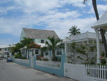 Harbour House. Harbour Island, Bahamas, Homes, Colorful House Royalty Free Stock Photography