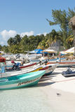 Harbour in Isla Mujeres, Mexico Royalty Free Stock Photos