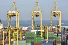Harbour of Khor Fakkan, United Arab Emirates Royalty Free Stock Image