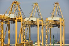 Harbour of Khor Fakkan, United Arab Emirates Royalty Free Stock Images