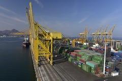 Harbour of Khor Fakkan, United Arab Emirates Royalty Free Stock Photography