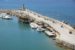 The harbour of Kyrenia, Cyprus Royalty Free Stock Photos