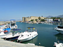 Harbour in Kyrenia, Cyprus Royalty Free Stock Photo