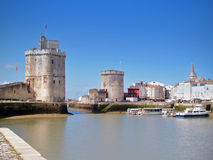 Harbour of La Rochelle, France Royalty Free Stock Photos