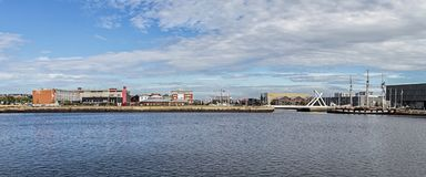 The Harbour In Le Havre, France. Royalty Free Stock Photography