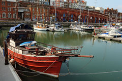 Harbour Life Royalty Free Stock Images