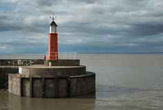 Harbour light Stock Images
