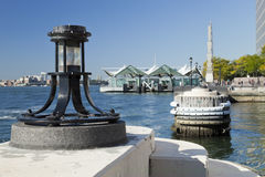 Harbour light - North Cove, New York Stock Image