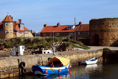 Harbour and Limekilns Stock Images