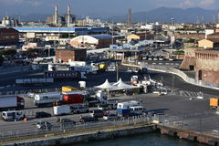 Harbour of Livorno, Italy Royalty Free Stock Photo