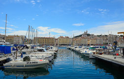 Harbour, Marseille, France Stock Image