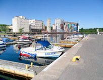 Harbour in Midland,Ontario,Canada Royalty Free Stock Image