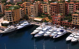 Harbour of Monaco Royalty Free Stock Image