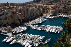 Harbour of Monaco royalty free stock image