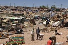 Harbour of Mopti, Mali Stock Photography