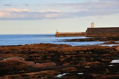 Harbour Mouth. Stock Images