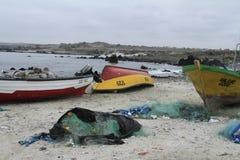 Harbour near La Serena Chile Stock Image