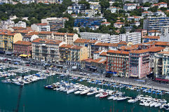Harbour of Nice Stock Image