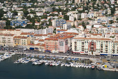 The harbour of Nice Stock Photos