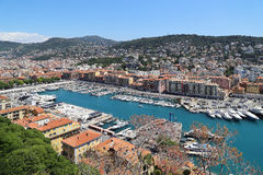 Harbour of Nice Royalty Free Stock Images
