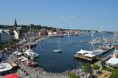 Free Harbour Of The Flensburg Fjord In Germany Stock Images - 26613094