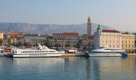 Harbour Old Town Split Stock Photography