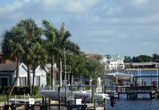 Harbour. In Orlando. Florida, USA Royalty Free Stock Image
