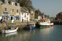 Harbour Padstow Cornwall England Stock Image