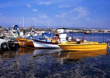 Harbour, Paphos, Cuprus. Stock Photography