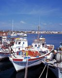 Harbour, Paphos, Cyprus. Stock Images