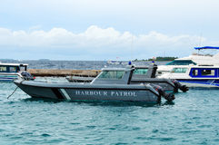 Harbour Patrol Boat Stock Images