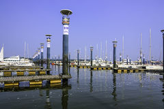 the harbour stock photography