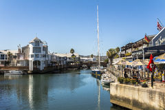 Harbour on pier of Knysna, Garden Route, South Africa Stock Photography