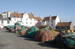 Harbour pier at Pittenweem Royalty Free Stock Image