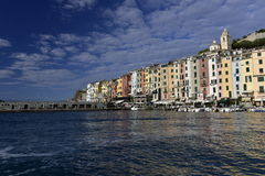 Harbour of Porto Venere, Italy Royalty Free Stock Photography