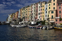 Harbour of Porto Venere, Italy Royalty Free Stock Image