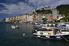 Harbour of Porto Venere, Italy Stock Image