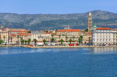 Harbour and promenade, Split town Stock Images