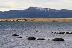 Harbour Puerto Natales, Patagonia Stock Image